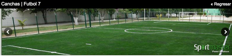 Canchas de Futbol 7 Pasto Sintetico b25bc13526a3f